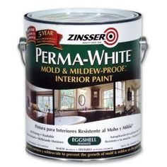 Perma-White Mold and Mildew-Proof Satin Interior Paint (Case of Whites sandfarben Zinsser Perma-White 1 gal. Mold & Mildew-Proof Satin Interior Paint - The Home Depot