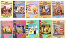 Baby Sitters Club. Read every one and then started my own club. Ha!