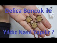 Delica boncukla yıldız nasıl yapılır ? - YouTube