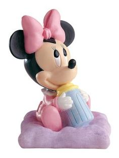 Baby Minnie Mouse Cake Topper *** Instant Savings available here : Baking decorations Baby Minnie Mouse Cake, Baby Shawer, Disney Figurines, Invitation, Decorating Tools, Disney Mickey, Decoration, Cake Toppers, Google