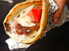 Making the perfect Gyros meat at home (serve in lettuce leaves or coconut flour tortilla for Primal/Paleo)