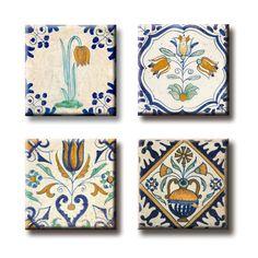 Delft Blue Fridge Magnets € 3,50 #delftblue #souvenir #magnet