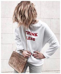 Think less ! by Noeuds Justine #Pimkie