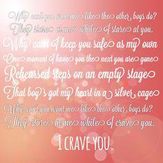 """Lyrics from """"Crave You""""-Flight Facilities"""