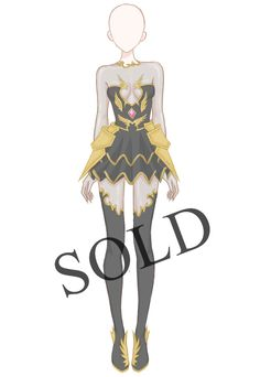 [SOLD] Shadow Armour Outfit Adoptable by Aloise-chan.deviantart.com on @DeviantArt