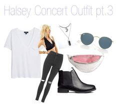 """""""HALSEY concert outfit """" by bellaaalisaaa ❤ liked on Polyvore"""