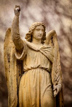Albany Angel by margatt on DeviantArt Cemetery, Past, Angel, Deviantart, Statue, Eyes, Past Tense, Cat Eyes, Sculptures
