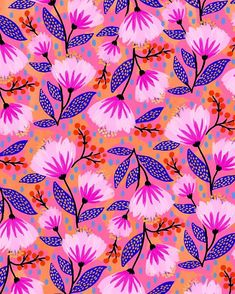 Mar 2020 - Happy 🌸 I wanted play with some slightly autumnal colors since it's November — the month that always seems to sneak up on me! Surface Pattern Design, Pattern Art, Cute Wallpapers, Wallpaper Backgrounds, Posca, Pretty Patterns, Pattern Illustration, Textile Patterns, Background Patterns