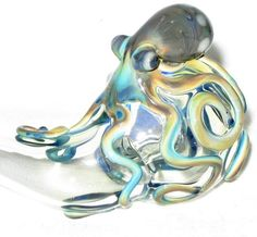 Octopus Sherlock Fumed Color Changing Pipe.
