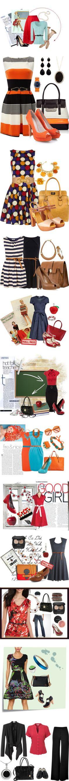 """Teacher Clothes"" by missteacherlady on Polyvore"