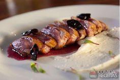 Receita de Magret de pato com molho de jabuticaba em receitas de aves, veja essa…