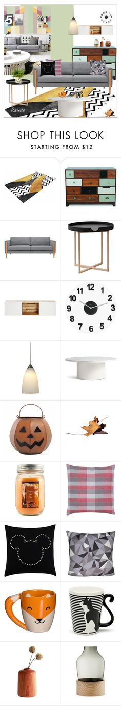 """""""Be My Guest"""" by rainie-minnie ❤ liked on Polyvore featuring interior, interiors, interior design, home, home decor, interior decorating, .wireworks, MASH Studios, Control Brand and Cal Lighting"""