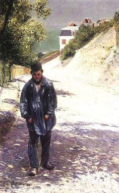 Gustave Caillebotte - Artist Claude Monet, 1884