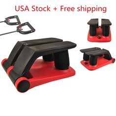 HOT Air Stepper Climber Exercise Fitness Thigh Machine W/DVD Resistant Cord BY | eBay