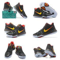 new styles cea86 f9fc1 Nike Really Cheap Kyrie 3 PE Gradient Swoosh pe Black Laser Orange Max  Orange Orange,