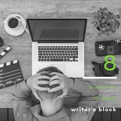 Do you have writer's block? Check out these 8 websites to banish writer's block and get you writing. Writer's Block, You Got This, Writing, Website, Check, Its Ok, Being A Writer