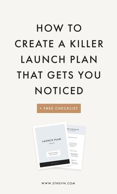 How to create a killer launch plan for your next big or launch! - Station Seven WordPress Themes and Squarespace Kits How to create a killer launch plan for your next big or launch! - Station Seven WordPress Themes and Squarespace Kits Influencer Marketing, Inbound Marketing, Plan Marketing, Content Marketing, Social Media Marketing, Online Marketing, Digital Marketing, Marketing Plan Template, Template For Business Plan
