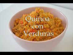 QUINOA CON VERDURAS | FUSSIONCOOK FC7SMART Grains, Rice, Recipes, Videos, Food, Youtube, Gastronomia, Vegan Vegetarian, Stew