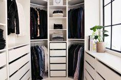 66 Ideas Walk In Closet Room Ikea Pax Drawers