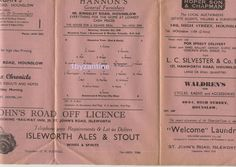 1948 Hounslow Town v Brentwood & Warley non League Football Programme Friendly Square Deal, Football Program, Programming, June, London, Ebay, Computer Programming, London England, Coding