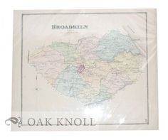 Philadelphia: Pomeroy & Beers, 1868. 15 5/8 x 14 1/2 Single sheet behind clear mylar. Order Nr. 93352