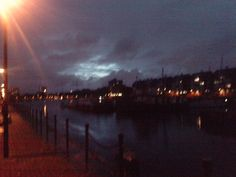 Deptford Marina At Night