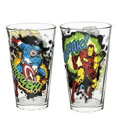 Love this Marvel Comics Tumbler - Set of Two on #zulily! #zulilyfinds