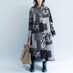 Printed Woolen Jacket