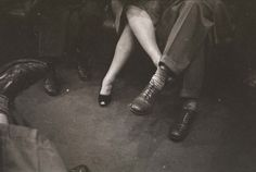 from the 'life and love on the nyc subway' series - stanley kubrick