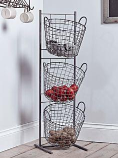 Wire Tier Baskets