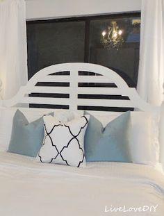 DIY Sharpie stencil pillow