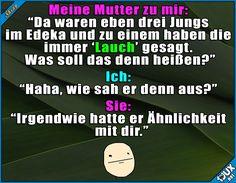Ähm, weiß auch nicht was das heißt x.x #Lauch #Jodel #peinlich #Sprüche #lustige #Memes #Humor #Statusbilder