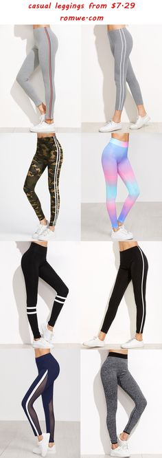 chic & sport casual leggings - romwe.com