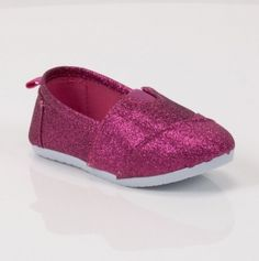 Kids Slip on Glitter Shoes