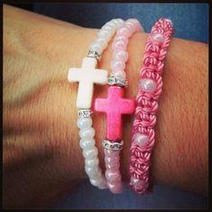 Combinación rosa/blanco