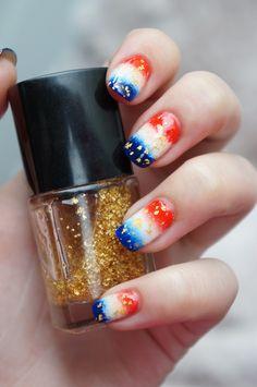 DIY Nail Art voor Koninginnedag, Koningsdag oftewel Kroningsdag ~ Beautyill | Beautyblog met nail art, nagellak, make-up reviews en meer!