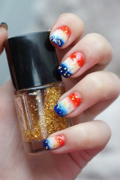 DIY Nail Art voor Koninginnedag, Koningsdag oftewel Kroningsdag ~ Beautyill | Beautyblog met nail art, nagellak, make-up reviews en meer!