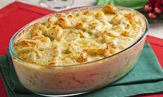 Veja a Deliciosa Receita de Receita de Bacalhau com queijo e batata. É uma Delícia! Confira!