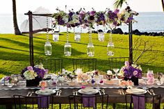 Elegant Wedding Table Settings | ... Here 39s a lovely dinner table that 39s balanced