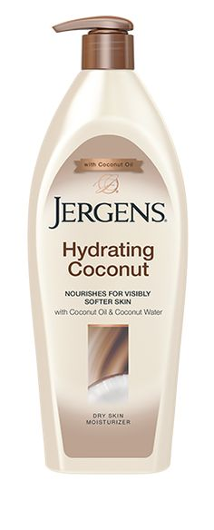 Learn more about Jergens Hydrating Coconut Dry Skin Moisturizer. With Ultra Hydrating Coconut water, your skin will be visibly softer.