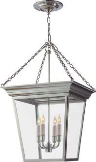 Cornice Small Hanging Lantern - Circa Lighting