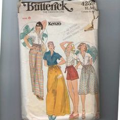 1970s Vintage Sewing Pattern Butterick by historicallypatterns