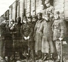 TWO BLACK SOLDIERS IN THE POLISH ARMY, WWI