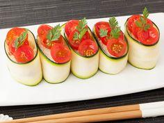 ミニトマトとズッキーニの野菜寿司