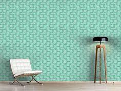 Design #Tapete New Wave Grün