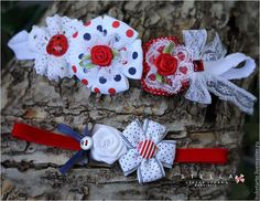Детская бижутерия ручной работы. Ярмарка Мастеров - ручная работа. Купить Повязка  для девочки, повязка с цветами, повязка на голову. Handmade.