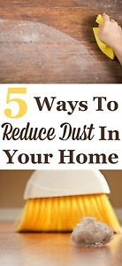 Dust is something that inevitably accumulates in our homes, but we can combat it, and reduce the amount of dust on flat surfaces, floors, and in fabrics and fibers. Take these five steps to reduce dust,...