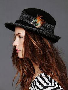 Collection 18 Feather Trim Fedora  http://www.freepeople.com/catalog-oct-12-catalog-oct-12-catalog-items/feather-trim-fedora/#