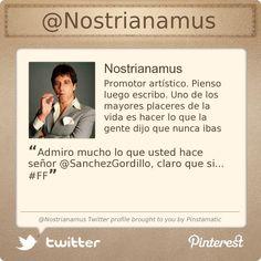 @Nostrianamus's Twitter profile courtesy of @Pinstamatic (http://pinstamatic.com)