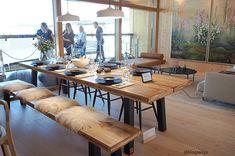 ASUNTOMESSUT 2018: KONJAKKIA JA VIHERKASVEJA Finland, Dining Table, Rustic, House, Furniture, Home Decor, Country Primitive, Decoration Home, Home